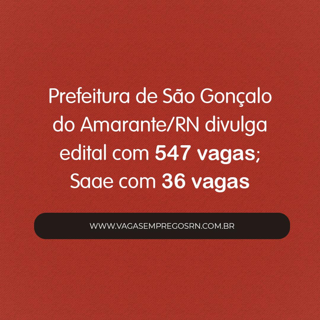 """Resultado de imagem para Concurso público: Prefeitura de São Gonçalo divulga edital com 547 vagas"""""""